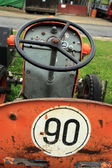 Antique tractor seat — Stock Photo