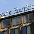 Private banking — Stock Photo #33631987