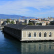 Rhone river, Geneva, Switzerland — Stock Photo