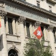 Post office facade, Geneva, Switzerland — Stock Photo