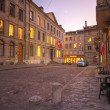 Street in old Geneva, Switzerland(HDR) — Stock Photo