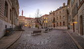 Bourg Saint-Pierre place, Geneva, Switzerland(HDR) — Stock Photo