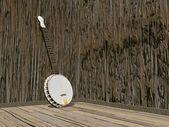 Banjo - 3D render — Stock Photo