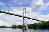 The thousand islands bridge, Canada — Stock Photo