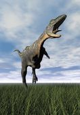Aucasaurus dinosaur - 3D render — Stock Photo
