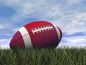Rugby ball - 3D render — Stock Photo