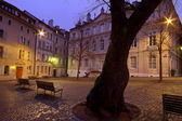 Bourg Saint-Pierre place, Geneva, Switzerland(HDR) — Foto de Stock