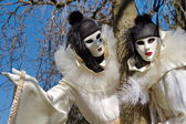 Venetian carnival at Annecy, France — Stock Photo
