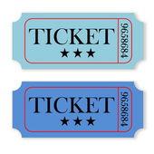 Vintage tickets — Stock Photo