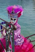 Carnaval vénitien à annecy, france — Photo
