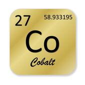 Cobalt element — Stock Photo