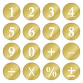 Mathematical symbols — Stockfoto