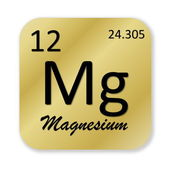 Magnesium element — Stock Photo