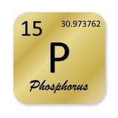 Phosphorus element — Stock Photo