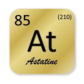 Astat elementu — Zdjęcie stockowe