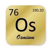 Osmium element — Stock Photo