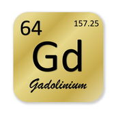 Gadolinium element — ストック写真