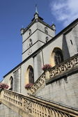 Church Saint-Laurent in Estavayer-le-Lac, Switzerland — Stock Photo