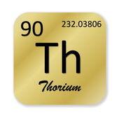 Thorium element — Stock Photo