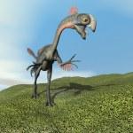 Aucasaurus dinoasaur roaring - 3D render — Stock Photo #51258477