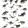 Set of dinosaurs - 3D render — Stock Photo #51258497