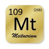 Meitneryium öğe — Stok fotoğraf