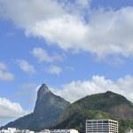 Corcovado mountain in Rio de Janeiro — Stock Photo #32517709