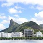 Corcovado mountain in Rio de Janeiro — Stock Photo #32517723