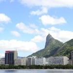 Corcovado mountain in Rio de Janeiro — Stock Photo #32517735