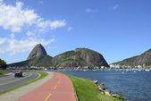Гора Сахарная в Рио-де-Жанейро — Стоковое фото