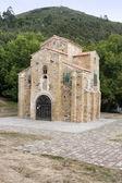 San miguel de lillo chiesa, oviedo, spagna — Foto Stock