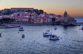 Collioure in the Vermilion coast, France — Zdjęcie stockowe