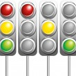 Traffic light - Stock Vector