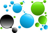 Bubbles — Stock Vector