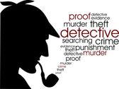 Detective — Stock Vector