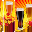 Vector set - beer — Stock Vector #19131673