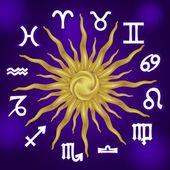 占星術、黄道十二宮 — ストックベクタ