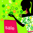 Royalty-Free Stock  : Spring girl on sale