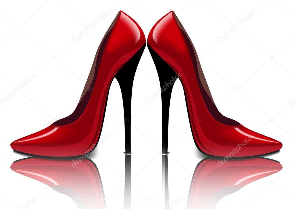 туфли фото красные