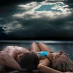 Relaxing couple — Stock Photo #3210158