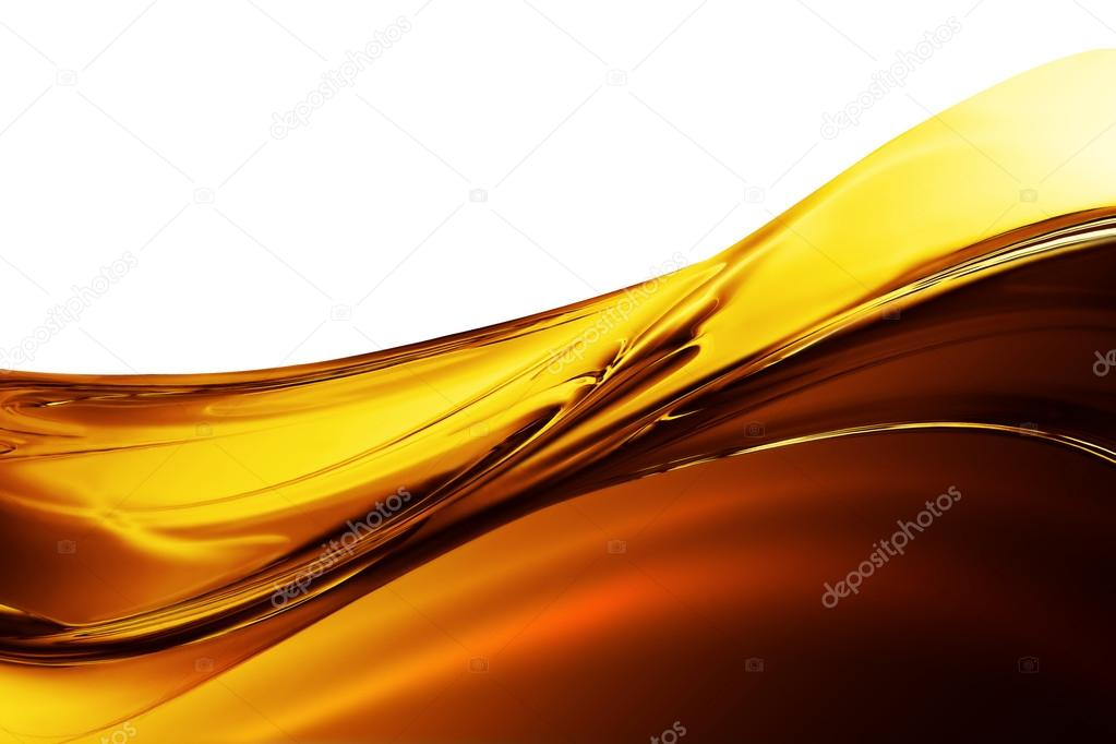 Oil Wave on a white background — Stock Photo #12271831