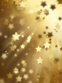 Golden stars — Stockfoto