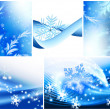 Winter-Thema — Stockfoto