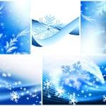 冬季主题 — 图库照片