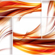 Stock Photo: Fiery stripes