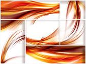 Fiery stripes — Stock Photo