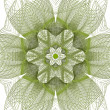 Abstract green flower — Stock Photo #14342741