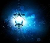 Lanterna incandescente — Foto Stock