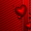 Romantic red background — Foto Stock