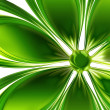 Green flower — Stock Photo